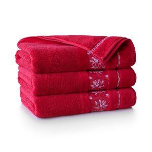 Ręcznik Zwoltex AZALIA CZERWONY