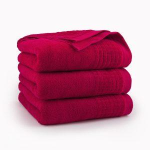 Ręcznik Zwoltex PAULO CZERWONY AG